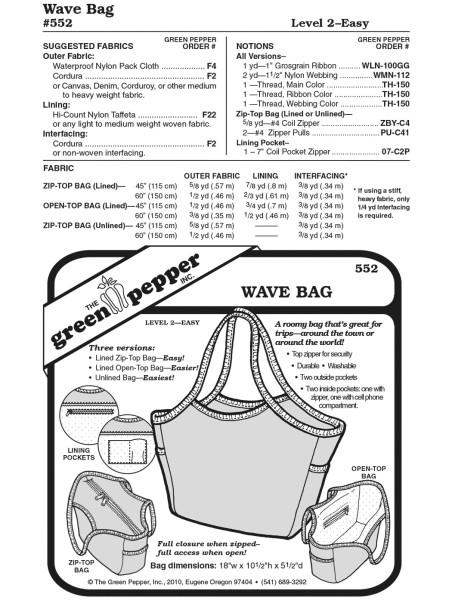 Wave Carrier Bag, GP552