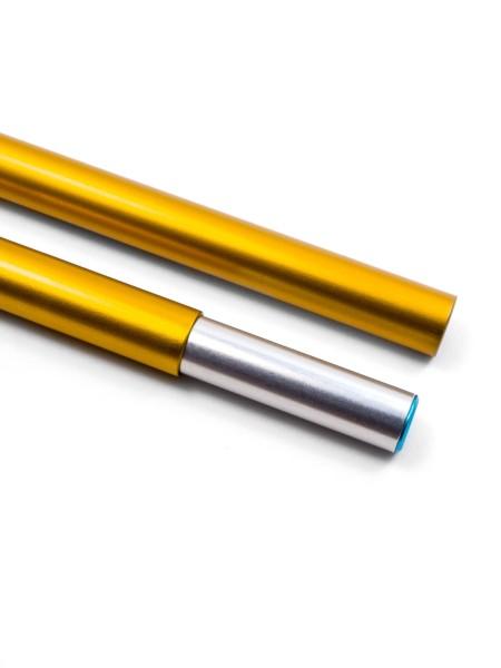 DAC Featherlite, NSL tent pole segment endpiece w. insert 10,25mm