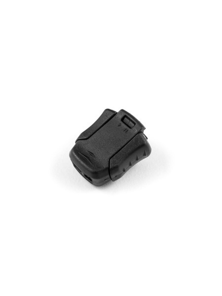 Schnellverschluss für Schnürsenkel, für elastische, weiche 3mm Kordel
