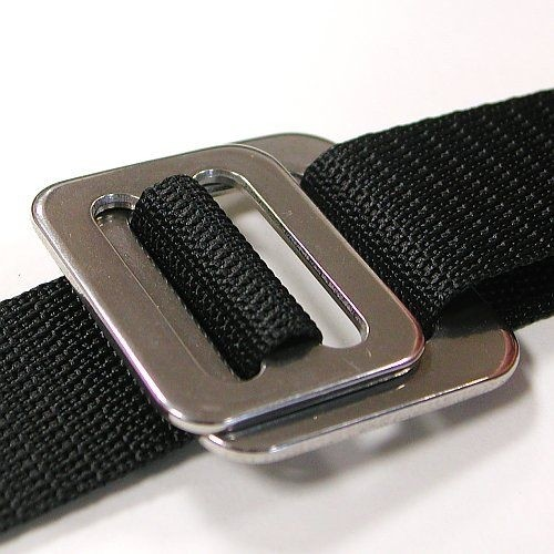 Buckle for webbing, 25mm, stainless steel
