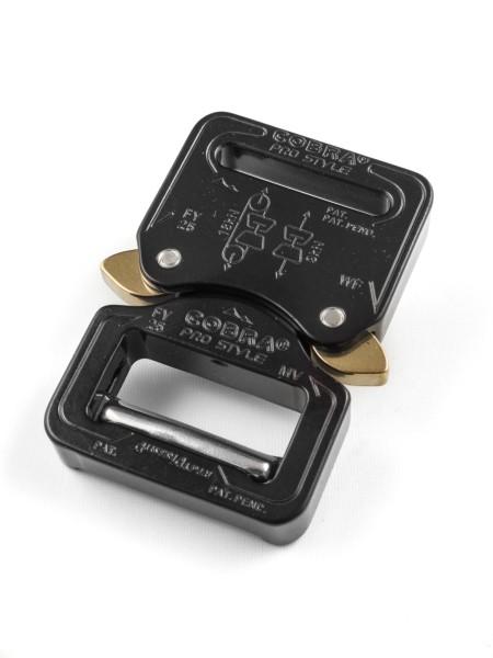 COBRA PRO STYLE Blitzverschluss zum einseitigen Fädeln, 25mm, CNC 7075 Alu
