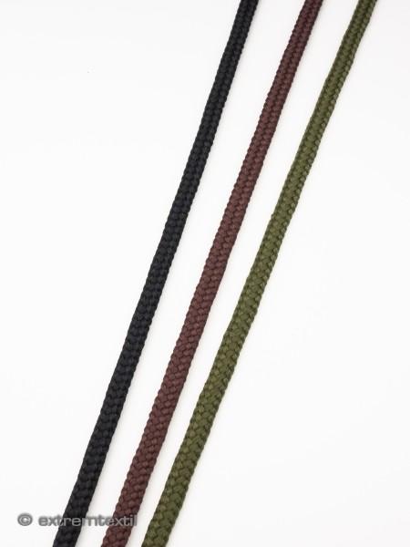 Schnürsenkel-Kordel, rund, soft, Polyester, 5mm