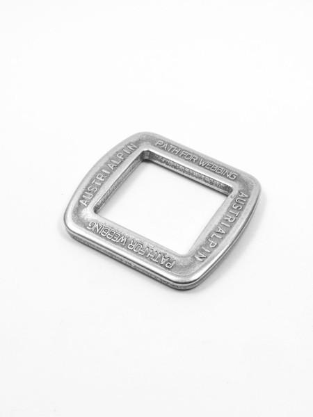 Square ring, alloy, AUSTRI ALPIN, 25mm