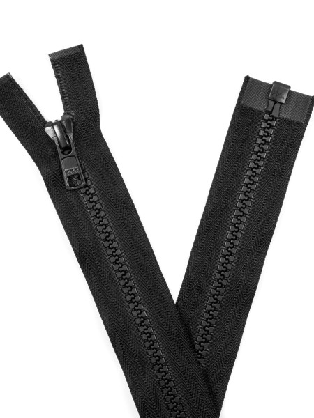 YKK 5VS Zipper with teeth, one way, open end, 50cm