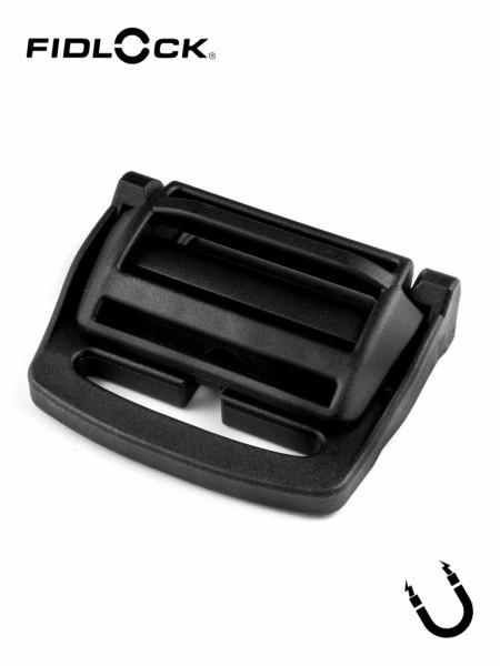 HOOK 40 BELT LL | magn. Gurtschnalle, eins. Gurtschlitz, mit Längenverstellung, 40mm