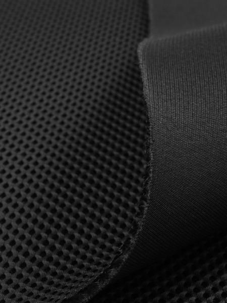 3D Mesh, 3mm, COOLMAX, elastic, 330g/sqm, small piece, black