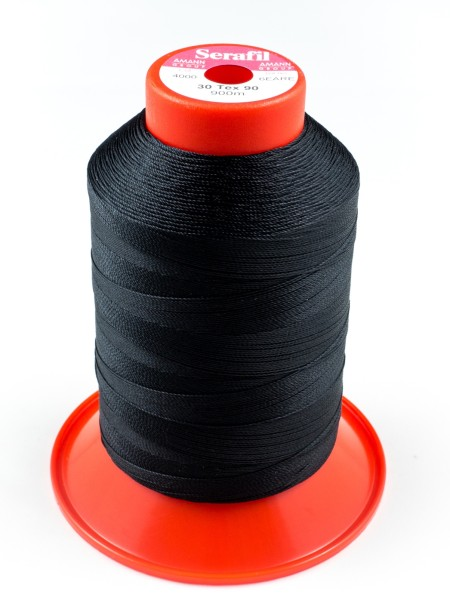 Serafil 30, Polyester continuous filament yarn, 900m