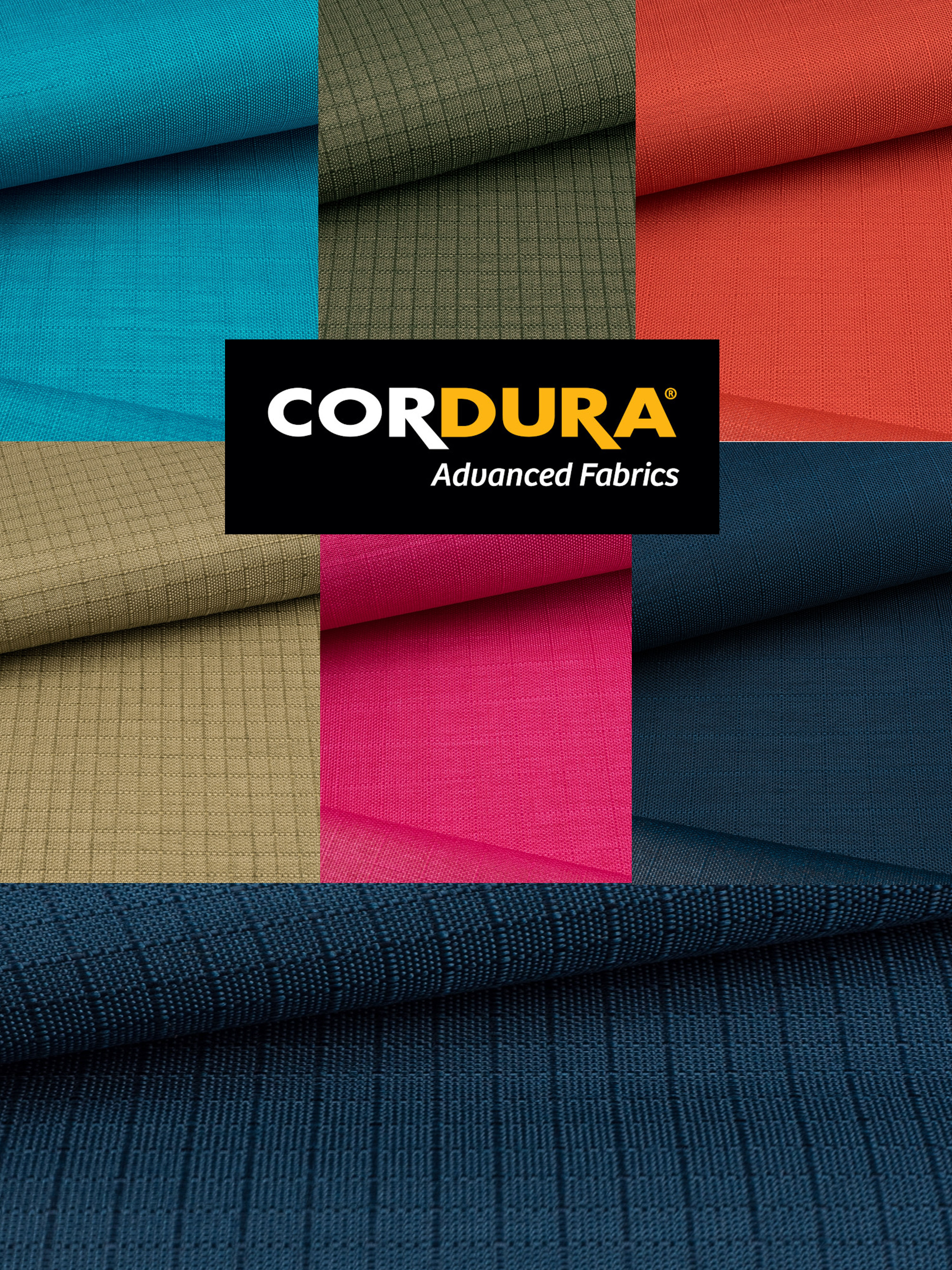 Colorful Cordura®!
