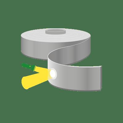 Reflektierende Bänder, Nähbare Bänder als Meterware