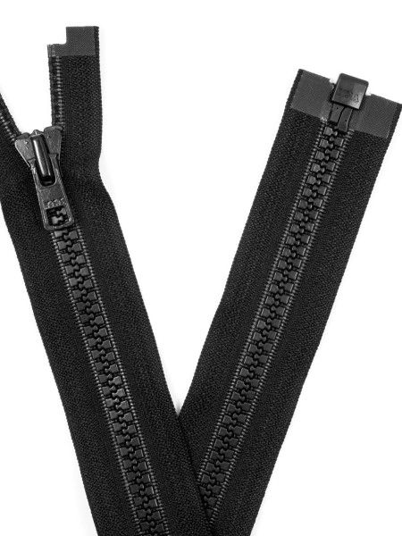 YKK 8VS Zipper with teeth, one way, open end, 86cm