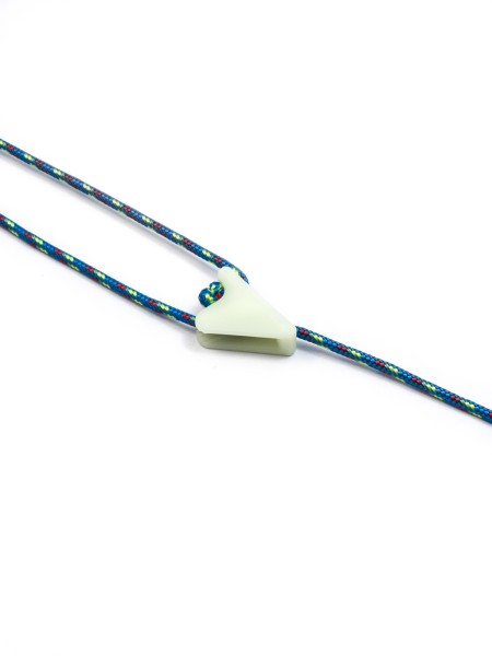 Zeltabspanner Clamcleat® Line-Lok mini, fluoriszieren