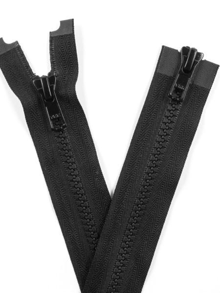 YKK 5VS Zipper with teeth, two ways, open end, 100cm