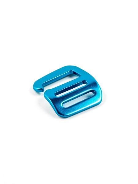 G-Buckle Gurthaken, Aluminium, 25mm