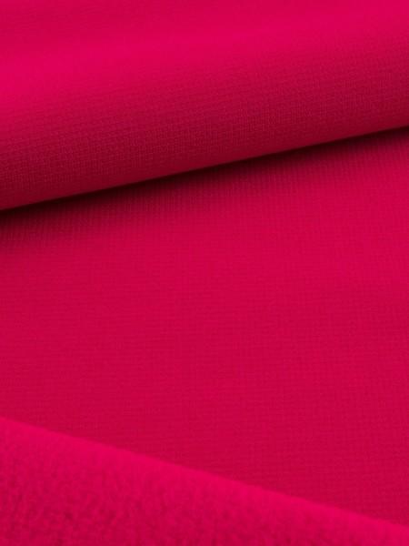 Gewebeart Fleece Stretch-Fleece, Jersey-Oberfläche, meliert, 100% recycled Polyester, 230g/qm