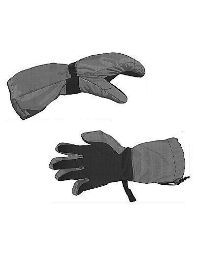 Wetterschutz-Handschuhe Schnittmuster CE75