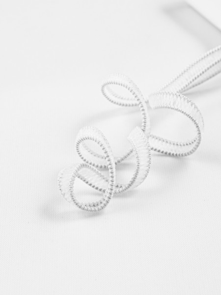 Elastic braid, knitted, soft, 4,5mm
