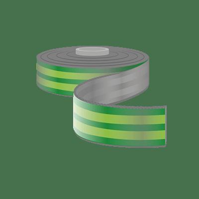 Sicherheitsgurtband, Bis 20mm Breite als Meterware
