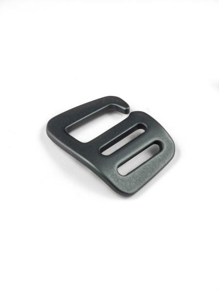 G-Buckle Gurthaken, Aluminium, Leftie, 20mm