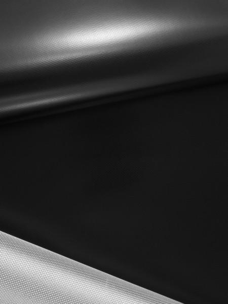 Gewebeart Taft Nylon, TPU-beschichtet, 450g/qm, HF-schweißbar, REST schwarz 0,9m