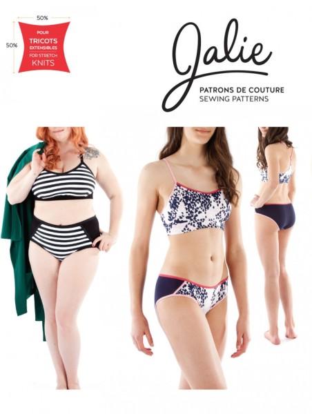 Bikini, Unterwäsche und Trägershirt, J3886