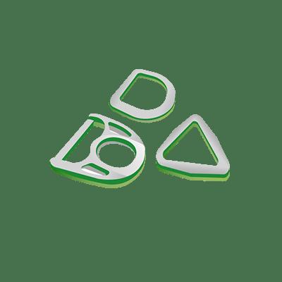 D-Ringe und Ringe, D-Ringe