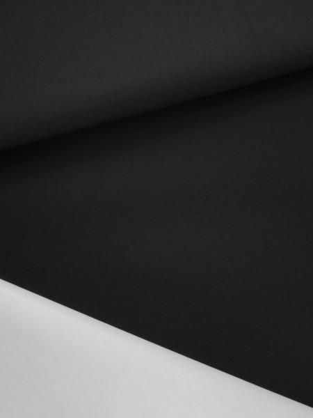 Gewebeart Laminat, Taft 2-Lagen-Laminat, matt, Taft, 145g/qm REST schwarz 0,25m
