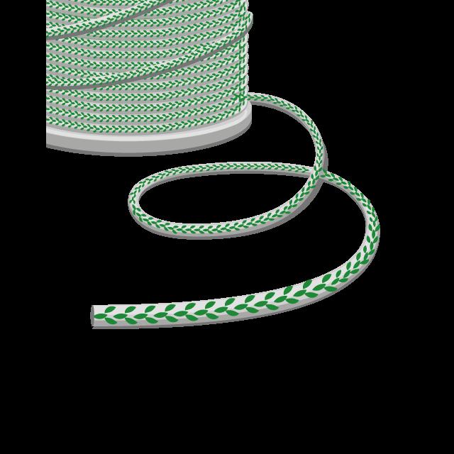Kordeln, Schnüre & Leinen, 4mm Durchmesser als Meterware