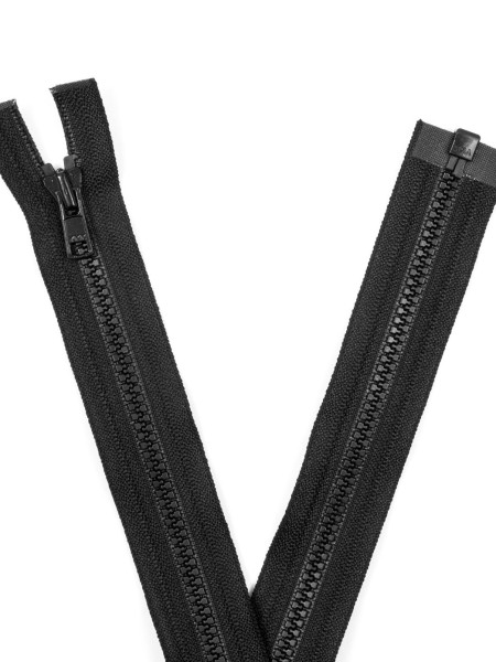 YKK 3VS Zipper with teeth, one way, open end, 90cm