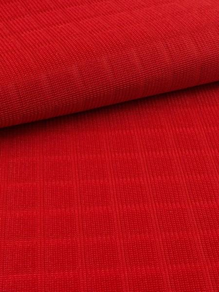 Waffelstruktur-Polyester, Spacer, luftig, 200g/qm