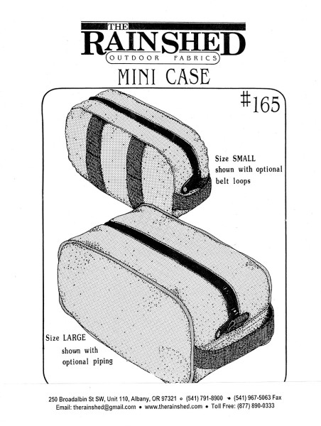 Mini Case, sewing pattern RS165