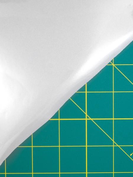 Reflexfolie silber, aufbügelbar, hochelastisch, EN20471
