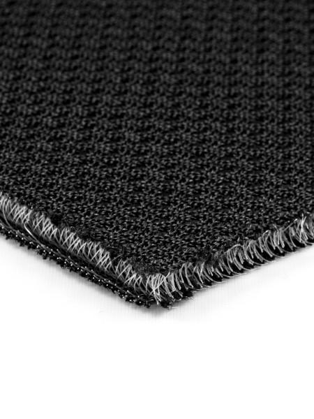 3D-mesh, 6mm, inelastic, 780g/sqm, small piece, black