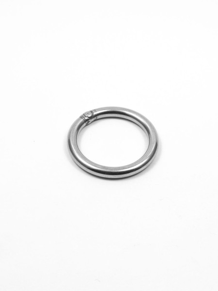 Ring, 25mm, stainless steel