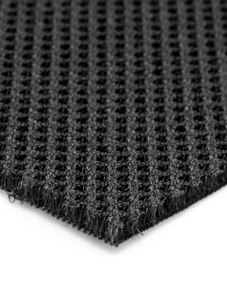 3D Mesh, 3mm, inelastic, 390g/sqm, small piece, black