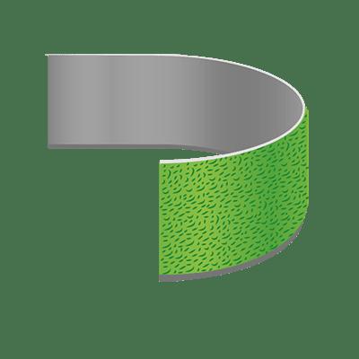 Velours Klettband, 20mm Breite als Meterware